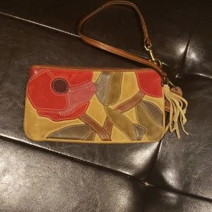 Coach Poppies for Peace Wristlet